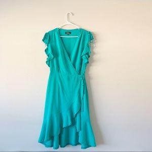 NWT Lulu's High Low Wrap Dress
